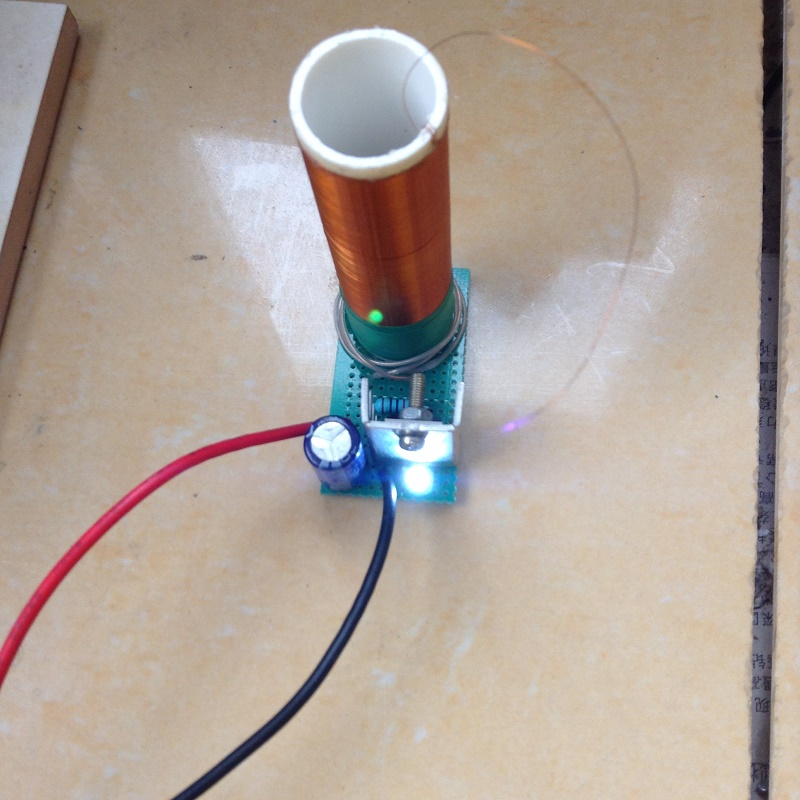 1pcs homemade tesla coil electronics enthusiasts diy mini for Diy electronic gadgets