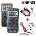 ANENG AN8002 Digitale Multimeter 6000 telt Backlight AC/DC Amperemeter Voltmeter Ohm Draagbare Meter Gift Crocodile Clip Test Lijn