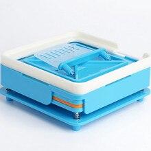100 отверстий машина для ручного наполнения капсул Фармацевтический Производитель капсул наполнитель Размер 0 для DIY травяные капсулы акрил