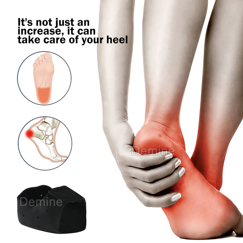 Silicone Gel Heel Pad for Plantar Fasciitis Spurs Cushion Shock Absorption Foot Skin Care Protector Moisturising Shoe Insert Cup