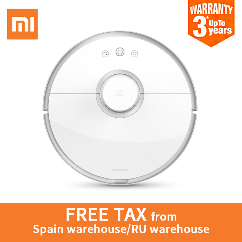 International Version Xiaomi Mi Roborock S50 Robot Vacuum Cleaner 2 WIFI APP Control Wet Drag Mop