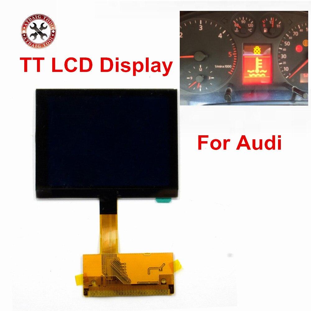 For AUDI TT LCD Display Screen for audi TT Jaeger A3 A4 Jaeger LCD dash dashboard repair(China)