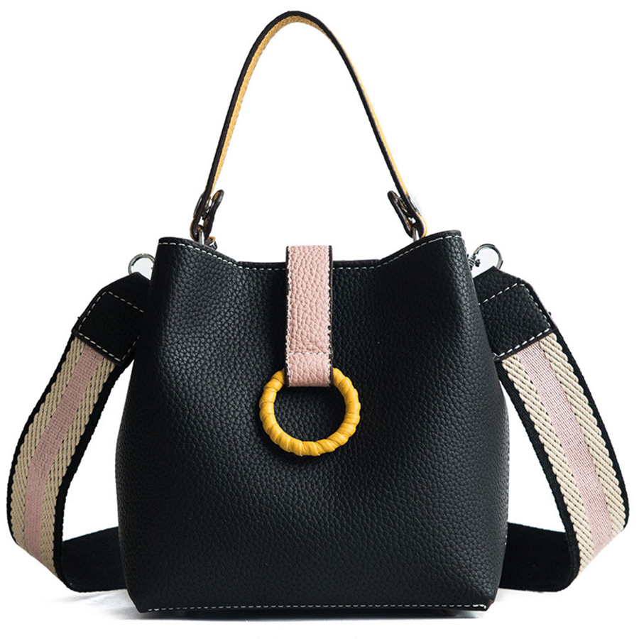 New Autumn Ladies Bags Korean Version Of The Messenger Bags Mini Fashion Bucket Bag Simple Shoulder