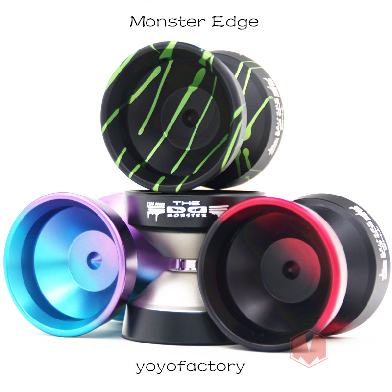 2019 New Arrive colors YYF Monster Edge YOYO Ultra wide sphere yoyo for professional Competitive Yo Yo 1A 3A 5A