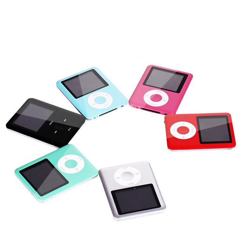 New 8GB Pink MP3 Player Music With FM Radio Voice Recorder Fm Tuner Video Games