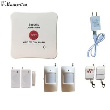 433mhz SOS Button Alarm System Gem Store Wireless GSM alarm Detect Burglar Security System SOS Jewelry Shop Home Alarm System недорого
