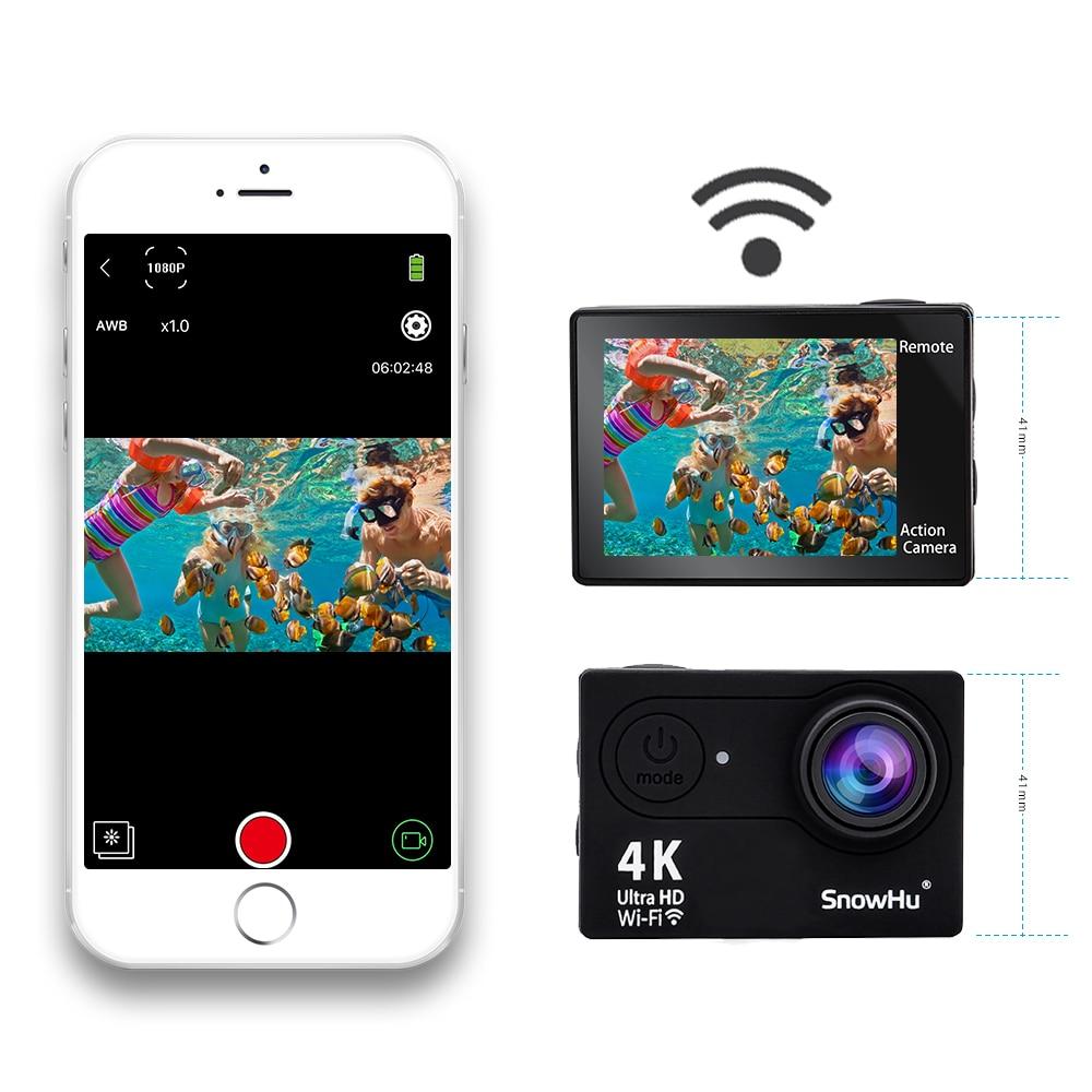 Nouveauté! caméra d'action Eken H10R/H10 Ultra HD 4 K 30 m étanche 2.0 'écran 1080 p caméra sport go extreme pro cam - 5