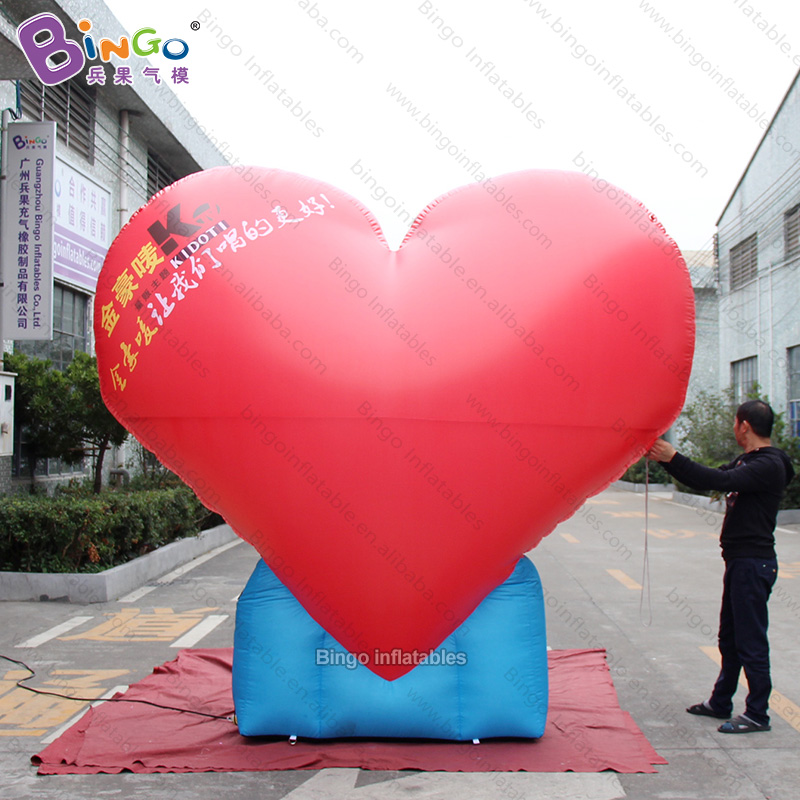 Personalized 10 feet height giant inflatable heart / air heart inflatable / large inflatable heart for decoration toysPersonalized 10 feet height giant inflatable heart / air heart inflatable / large inflatable heart for decoration toys