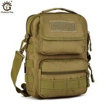 Military Army Tactical Messenger Bag Waterproof Travel Rucksack Camping Hiking Trekking Camouflage Bag