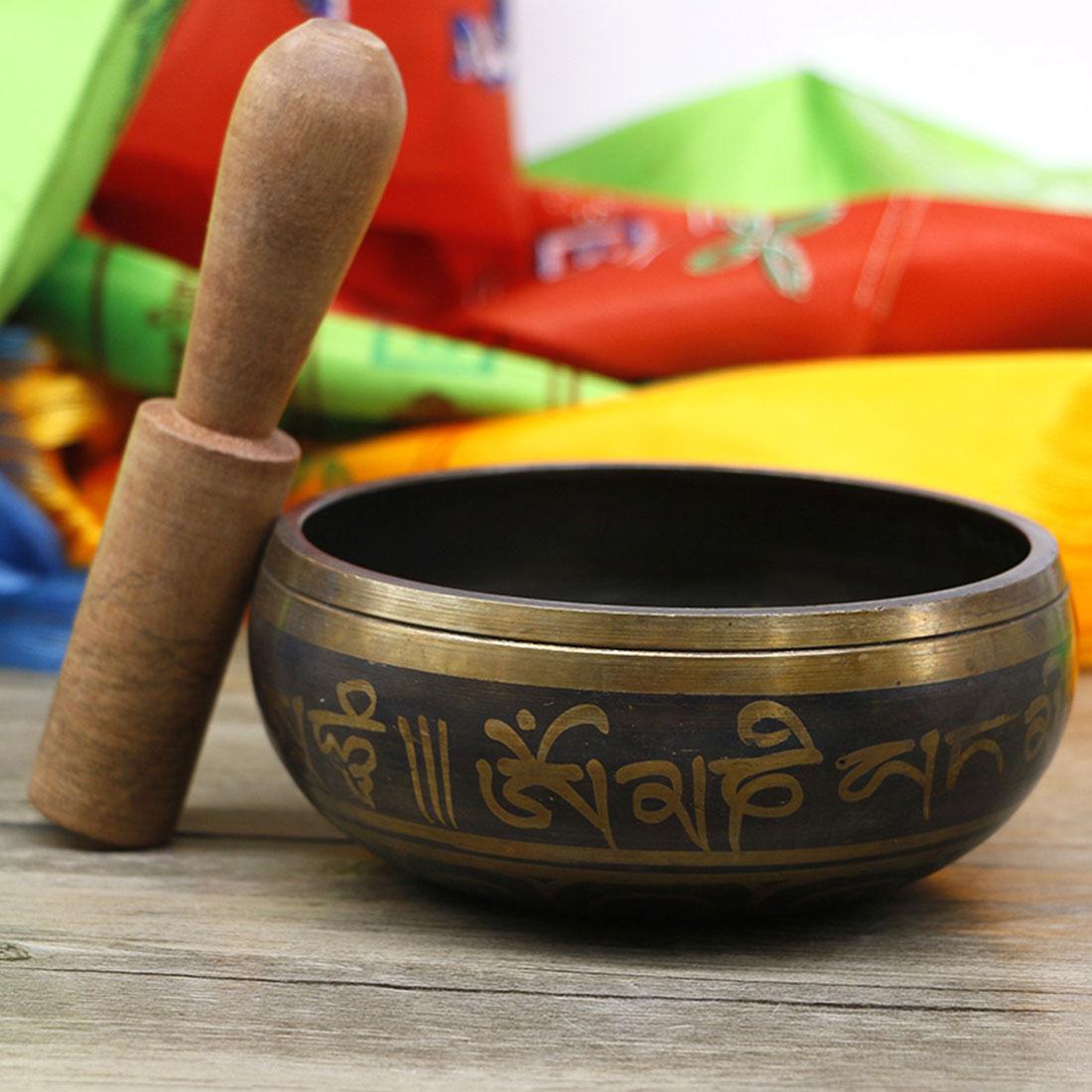 Decorative Yoga Singing Bowl Tibetan Bowl Decorative-wall-dishes Home Decoration Wall Dishes Home Decoration Hammered Meditation