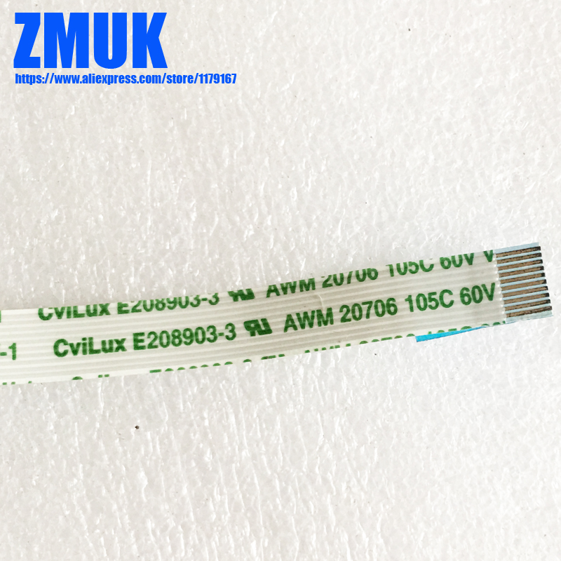 Cabo de fita flexível cvilux, E208903 3 awm 20706 105c 60v VW 1, p/n»
