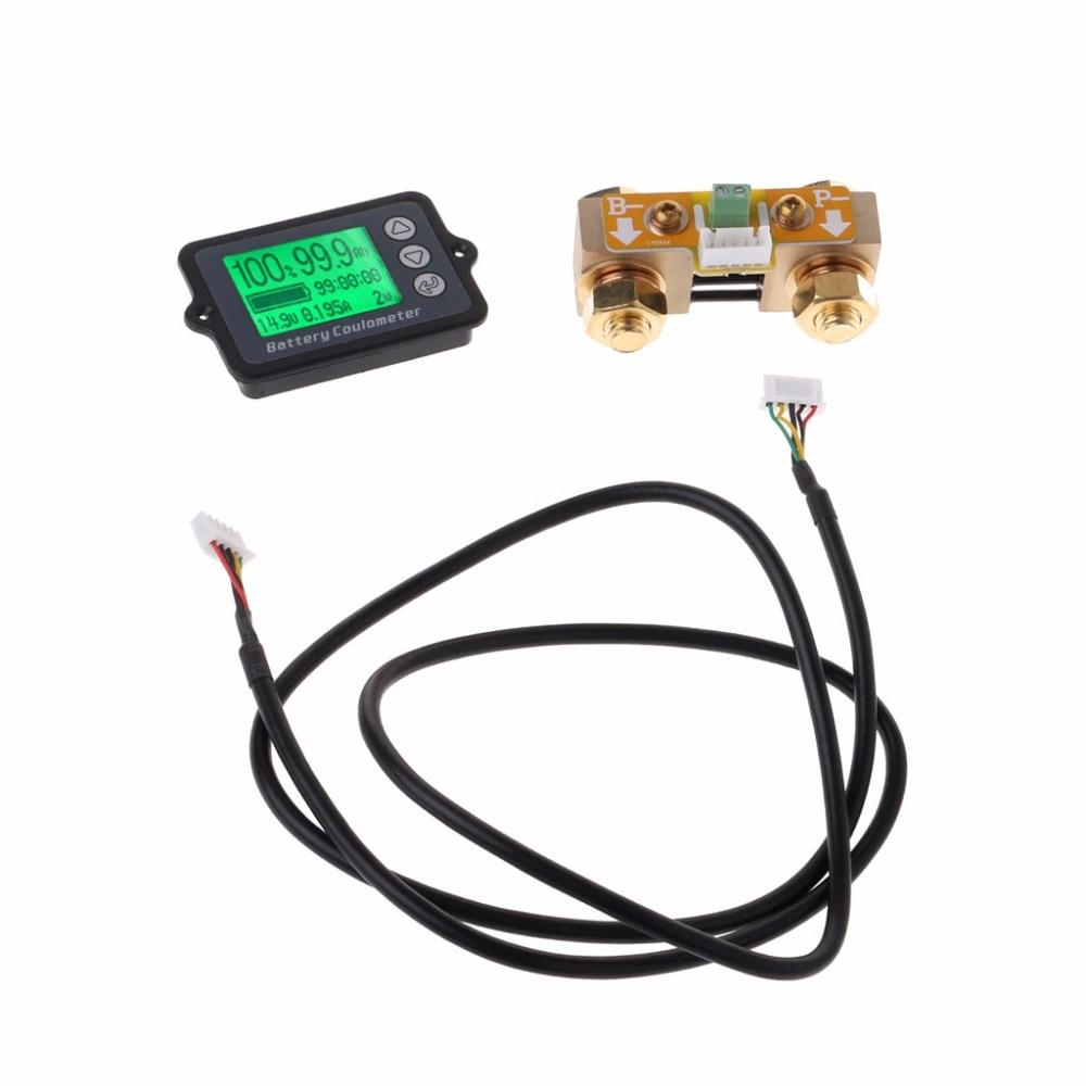 80 v 350A TK15 Précision Batterie Testeur pour LiFePO Coulomb Counter LCD Coulombmètre Testeur Outils