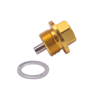 Image 4 - SPEEDWOW M18*1.5 Magnetic Oil Sump Nut Drain Oil Plug Screw Oil Drain Engine Nut