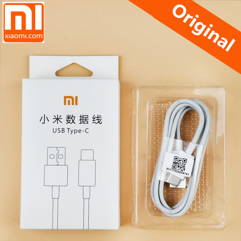 Original XIAOMI mi mix 2 Type C data charger cable fast charging for 6 Mi6 5 A1 NOTE 3 A1 Mix 5c 5s note2 MAX2 Note3 MI5 5SPLUS
