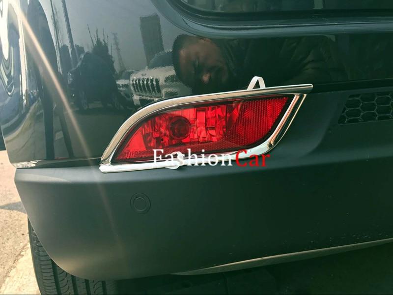2 шт./компл. кузова ABS Chrome задних противотуманных фар Накладка для Jeep Компасы 2017 автомобиль-Стайлинг
