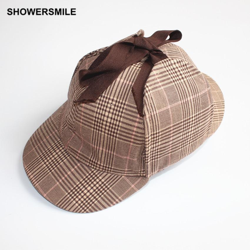 showersmile brand hat sherlock hat unisex