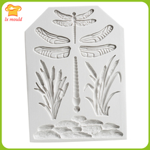 Libelle trockenen Pace form gras fondant kuchen dekoration formwerkzeuge