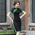 Shanghai Story Lace Cheongsams long cheongsam qipao dress chinese traditional clothing oriental dresses 2 Color