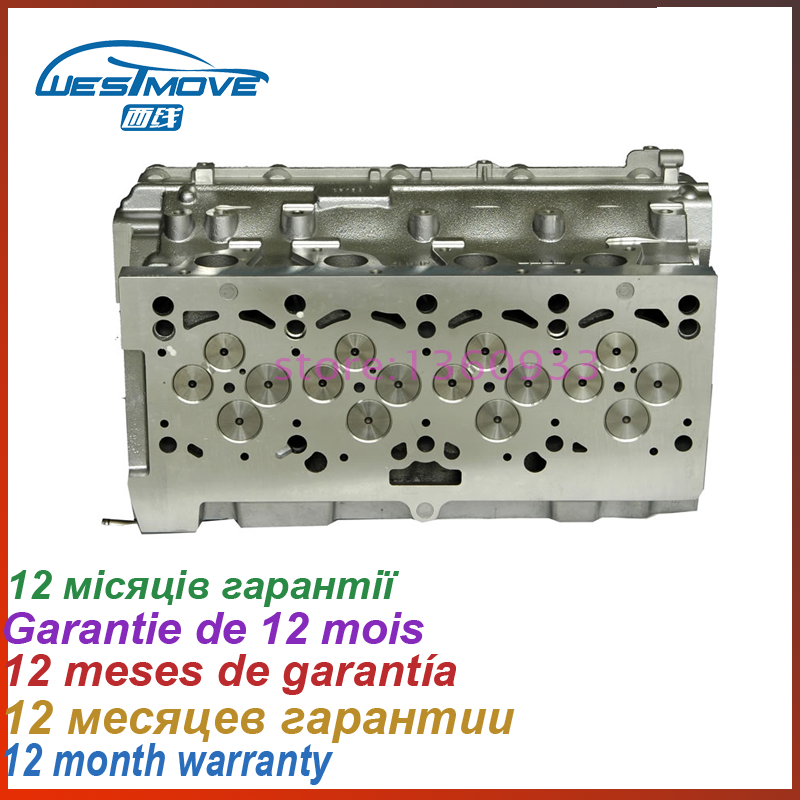 cylinder head for Dodge Caliber 1968 2.0 CRD L4 81.00 DOHC 16 2007- ENGIEN : ECD 6800129 ...