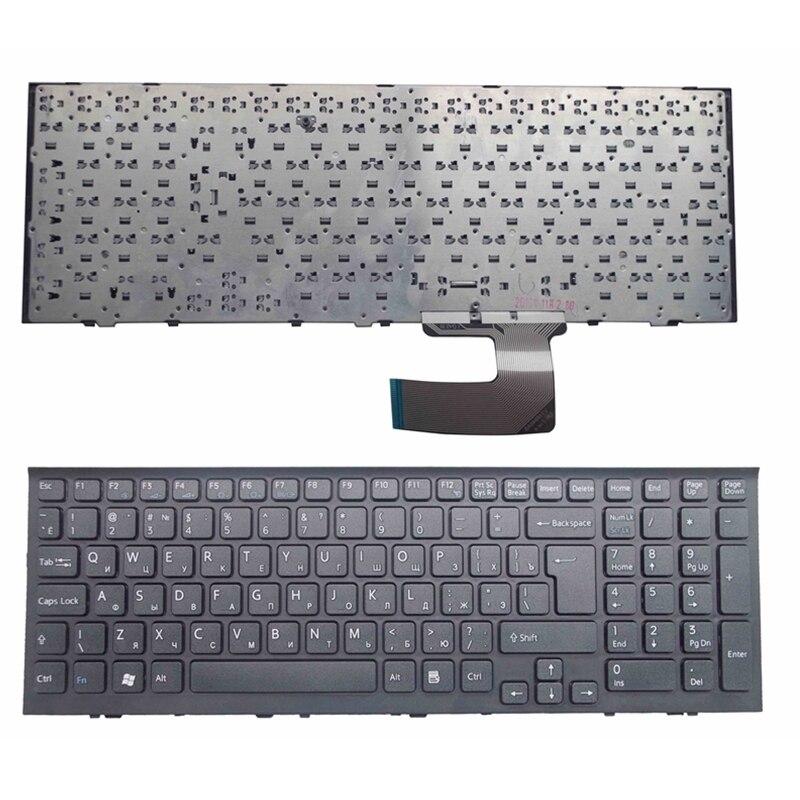 RU Black New FOR SONY VPC EE37EC EE26FJ EE27EC EE25EC EE25 EE27 EE EE47 EE26FG Laptop Keyboard Russian