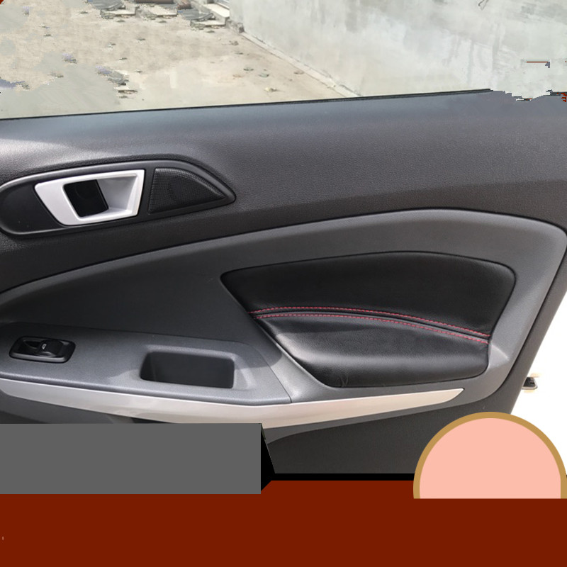 Ford Ecosport Interior Top View: DIY Microfibre Leather Interior Door Panel Armrest Cover