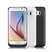 For Samsung Galaxy S6 S6Edge Plus Power Bank Case 4200mAh Extended Battery Case Powerbank Mobile Charge Cover Cases for Samsung
