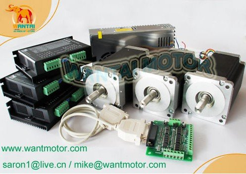 цена на FOR USA BUYERS SHIP FROM USA ,3 Axis Nema 34 Stepper Motor 892OZ-In &Control CNC Mill