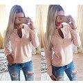 Autumn Winter Hoodies 2017 New Fashion Pink Women Sexy Long Sleeve Zipper Punk Female Sweatshirt Casual Hoodies Sudaderas Mujer