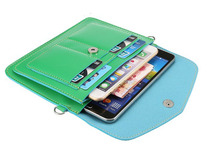 Shoulder Belt Lady Shopping Pouch Zipper Artificial Leather Phone Case For Xiaomi Redmi Note 3 Note 2 Note 4,Note 3 Pro(China)
