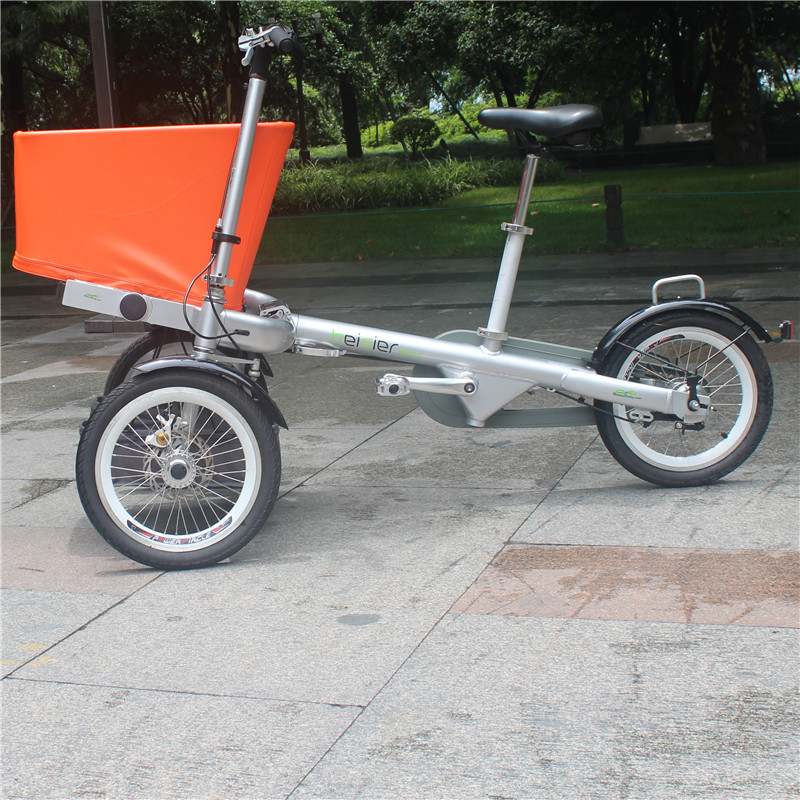 Orange Color For Kids Bike Mother Cycling Shopping Travling Taga Bike Baby Bicycle Three Wheels Carriers Pushchair For Mom&Baby children s bicycle kids balance bike ride on toys for kids four wheels child bicycle carbon steel bike for children 1 2 years