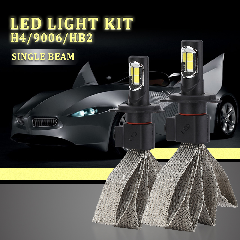 S7 Car Headlight Kit h7 LED Light Bulbs For Car H4 LED H3 H11 H1 880 9004  9007 9005 9006 12V 55W 6000K 12000LM Auto Bulb Light