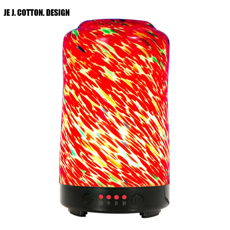 3D Ароматерапия Ультразвуковой увлажнитель воздуха аромат эфирного масла диффузор ночника Электрический тумана Fogger для дома Hotel