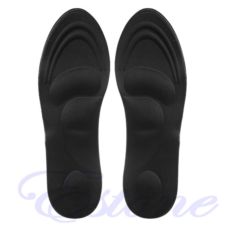 1Pair 3D Sponge Soft Insole Comfort Soft High Heel Shoe Pad Pain Relief Insert Cushion New High Quality Hard-Wearing More Color1Pair 3D Sponge Soft Insole Comfort Soft High Heel Shoe Pad Pain Relief Insert Cushion New High Quality Hard-Wearing More Color