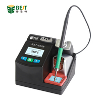 BST 933B Smart Lead free Soldering Station 2.5S Rapid Heating with Dual Channel Power Supply Heating System Welding Station