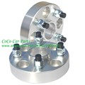 (2pcs/lot) Aluminum Wheel Spacers Adapters 4X100 CB 60.1mm Thick 20mm P1.25Silver 4 Lug High Quality