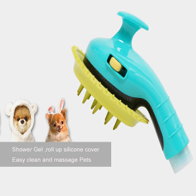 Pet Dog Cat Bathing Device Shower Head Pet Dog Bathtub Sprayers Dog Cat Horse Massage Shower Cleaning Dog Hair Washing WK01