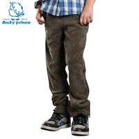 Frühling und Herbst Kind Cord Dünne kinder Kleidung Hosen Junge Casual Hosen Cord Hosen für Jungen Kinder