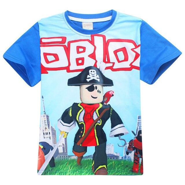 Cartoon Roblox Printed Kids Christmas Tshirts Five Night T Shirt