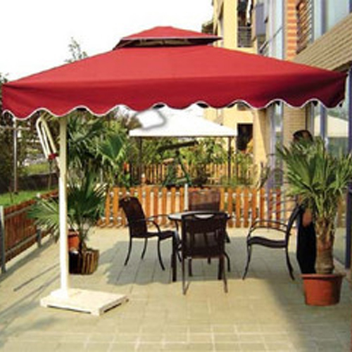 3 Meters Square Outdoor Umbrellas Courtyard Garden