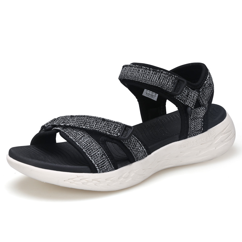 2019 HUMTTO Women's Outdoor Summer Beach Sea Sandals Shoes For Ladies Women Water Aqua Sandal Shoes Woman River Plate