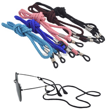 50PCS Colourful eyeglass sunglasses nylon neck string cord retainer strap eyewear