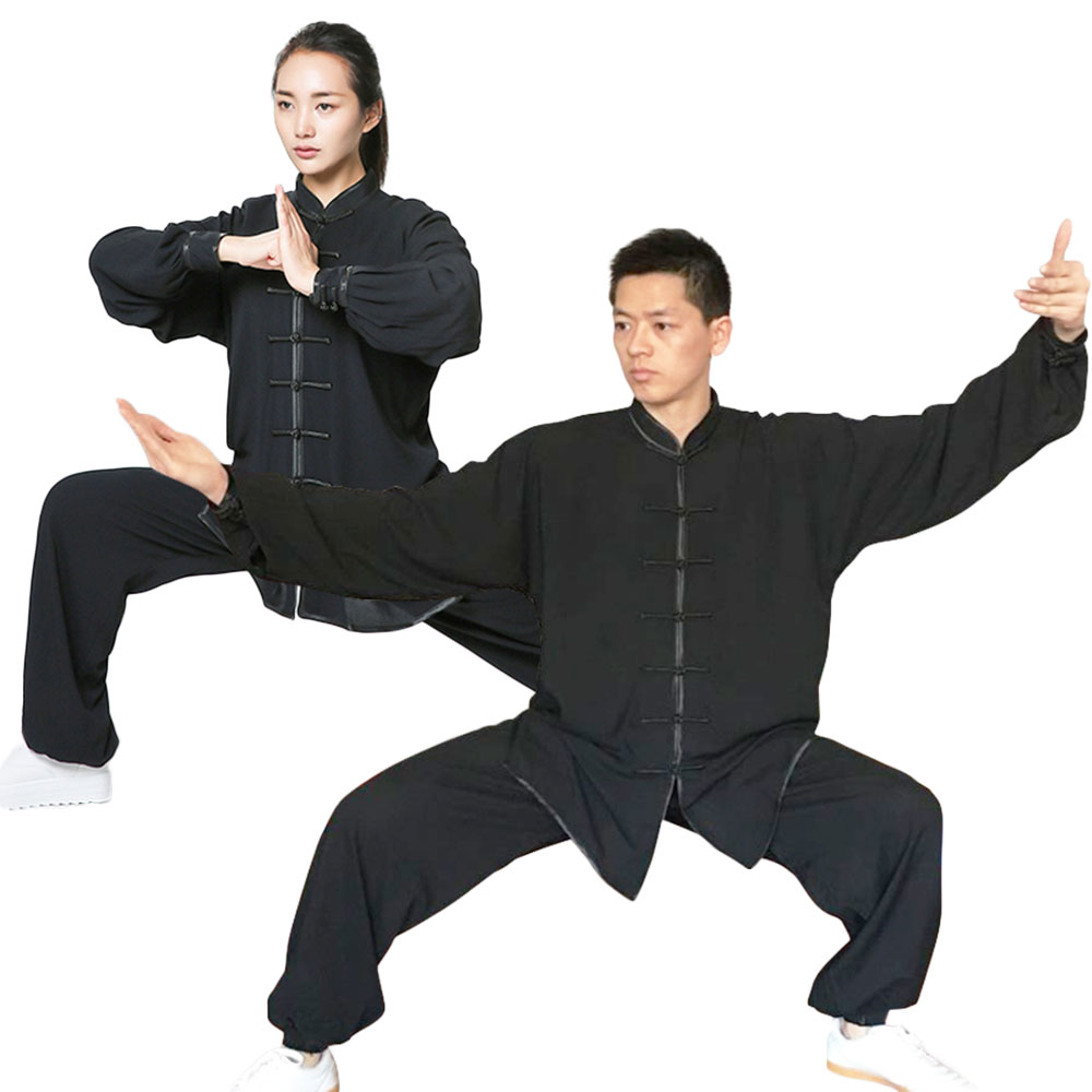G-LIKE Tai Chi Uniform Clothing -Martial Arts Kung Fu Training Cloths Apparel Clothing for Seniors Beginners Men Women master recommend movement triangle frame wing chun wooden dummy donnie ye used standard kung fu wooden dummy martial arts