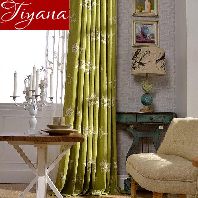 kopen goedkoop sterren gordijnen woonkamer groen gordijn voor raam slaapkamer behandeling keuken tulle pure gordijnen grijs stoffen schaduw x395 30 online