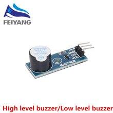 100 adet aktif Buzzer modülü yeni DIY kiti aktif buzzer düşük/yüksek seviye modülleri