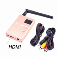 FPV 5.8G 5.8GHz 48CH 48 Channels RC832HD RC-HD Receiver HDMI With A/V and Power Cables For Quadcopter F450 S500 S550 RC832