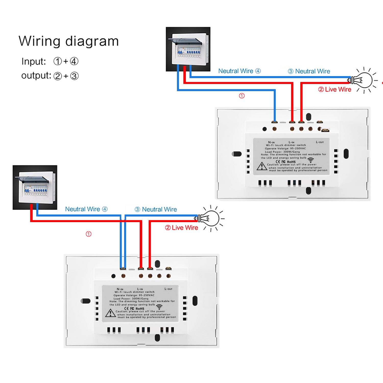 1*Smart Wifi Switch 1*E27 Bulb 1*Package Box