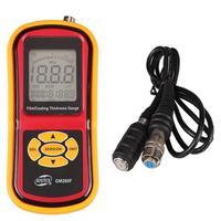 Magnetic eddy current film/paint thickness gauge galvanizing film thickness gauge tester Measuring range 0 1800um|Width Measuring Instruments|Tools -