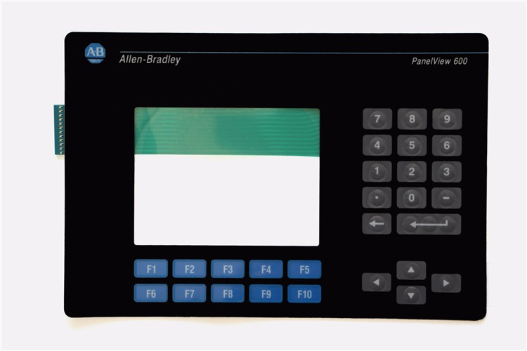 2711-K6C10 : Membrane keypad for AB 2711-K6C10 PanelView Standard 600 Color, 2711-K6 Series Keypad, FAST SHIPPING 2711 t9c1 touch screen protect flim overlay for ab 2711 t9 series panelview standard 900 color fast shipping