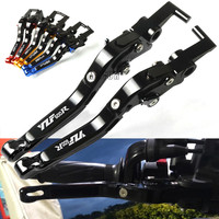Adjustable Motorcycle Brake Clutch Levers For Yamaha YZF R1 YZF 600R Thundercat 1995 2008 TRX850 1996 2000 FZR400 RR/RRSP 1995