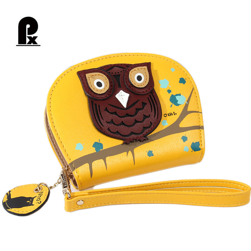 mini women wallets purses brand design female owl colorful cartoon small cute leather purse women's wallet carteras cuzdan PX new design hasp wallets cute pokemon go wallet pocket monster purses pikachu wallets cartoon children best present wallets